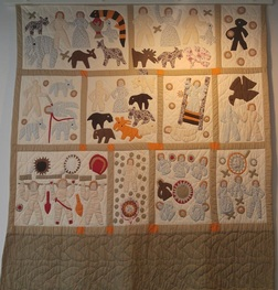 Harriet Powers Bible Quilt Reproduction