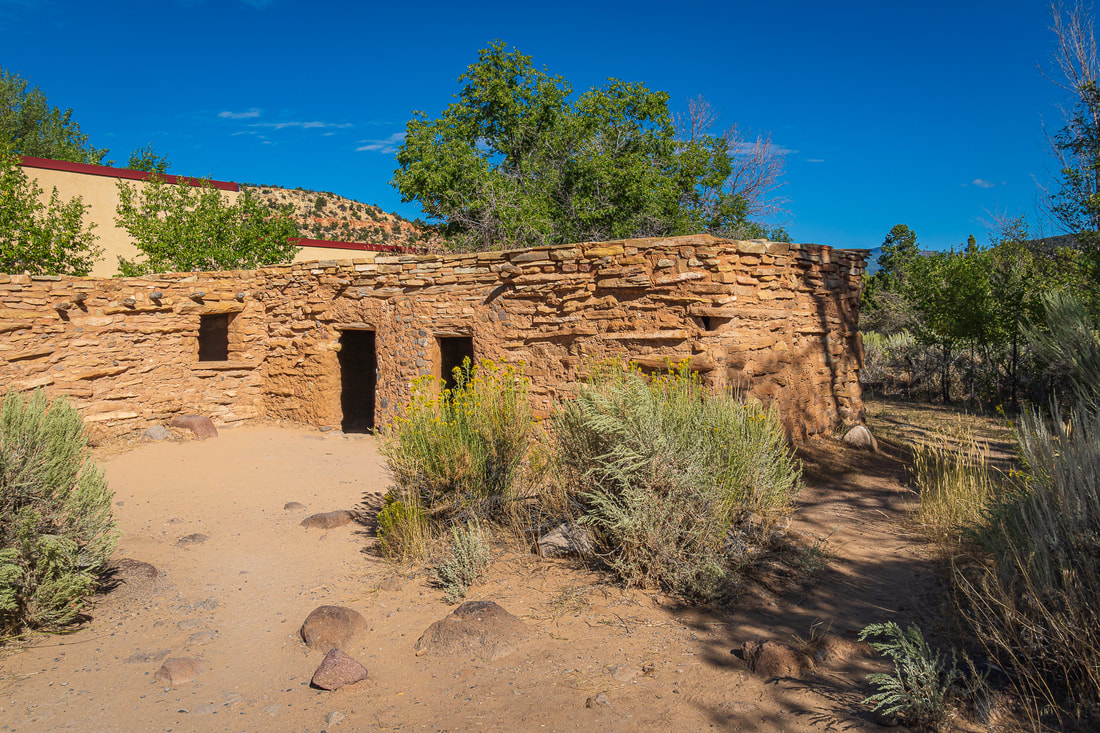 Anasazi State Park Museum Picture