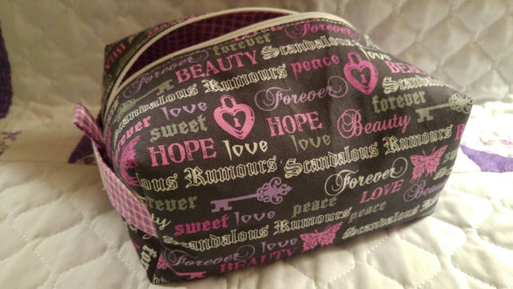 Cosmetic Bag from Sixmunchkin Stitching