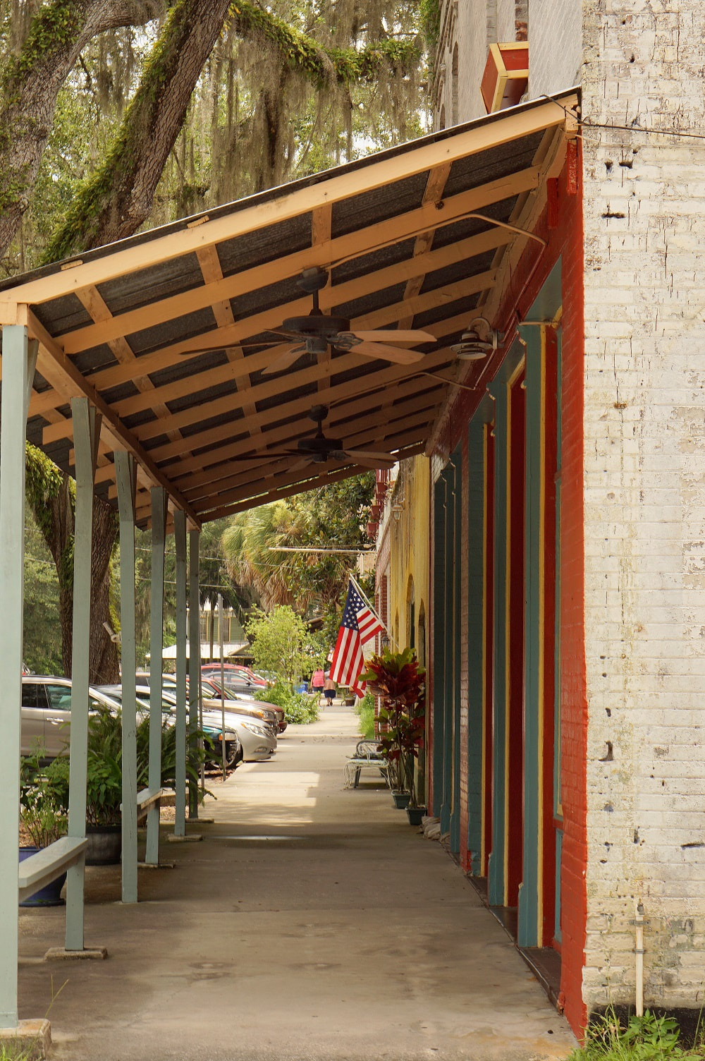 Picture of a walkway in Micanopy, Florida